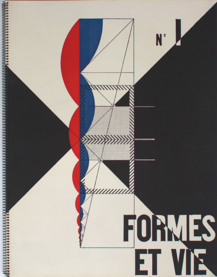 Cover of book, Formes et Vie