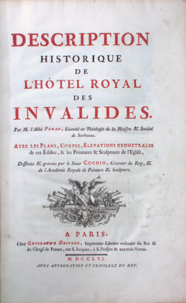 Cover page of Hotel des Invalides