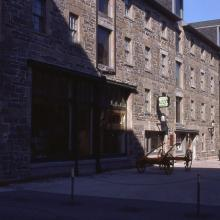 Historic stone building at Halifax Waterfront