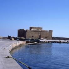 Fort Turc and waterfront at Paphos