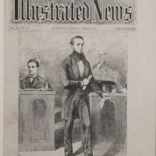 Alexander Mackenzie Canadian Illustrated News Cover