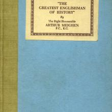 Cover of The Greatest Englishman of History