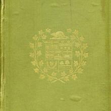 Cover of first biography of John A. MacDonald