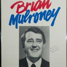 Brian Mulroney Election Poster