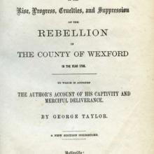 History of the Rebellion title page