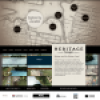 Heritage Passages exhibit website